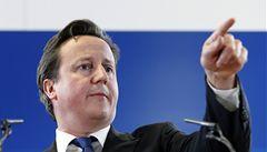 Cameron podpořil břidlicový plyn. Láká ho soběstačnost