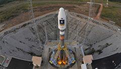 Start rakety se satelity Galileo se odkládá