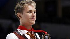 Krasobruslař Březina vyhrál poprvé závod Grand Prix