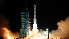 Čína vypustila na oběžnou dráhu vesmírnou loď