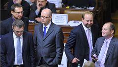 Koalice nedovolila opozici mluvit o IZIP, jednání bylo přerušeno