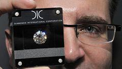 Do Prahy dorazily diamanty za půl miliardy
