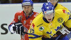 Kapitán Nedvěd rozhodl o výhře nad Švédskem