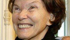 Zemřela bývalá první dáma Mitterrandová