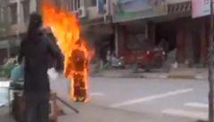Další tibetská matka se na protest upálila v západní Číně