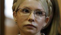 Vězněná Tymošenková přerušila hladovku. Na žádost protestujících