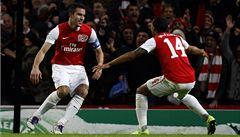 Rosický se vrátil do sestavy a Arsenal zvítězil 7:1