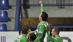 Lafatův stý gól přinesl Jablonci bod z Liberce