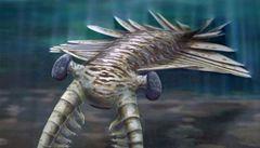 Vědci našli oči dávného mořského dravce