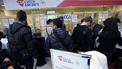 ČSA nabízí letenky cestujícím padlých CCA