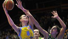 Basketbalistky USK v Evropské lize rozdrtily Kaunas