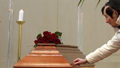 Lidé se loučili u Havlovy rakve, pohřeb bude v pátek v poledne