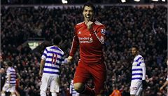 Suárez překonal Černého a zařídil 3 body Liverpoolu