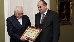 Klaus podpoří Čechy na Euru, bude jim fandit proti Rusku