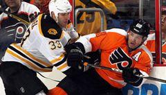 VIDEO: Jágr prohrál 1300. utkání v NHL 6:0. Flyers vyškolil Boston