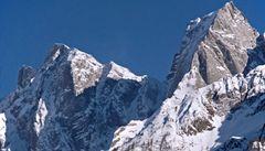 Ve Švýcarsku se zřítily miliony kubíků hory