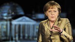 Merkelová zpochybnila snahy zachránit Řecko