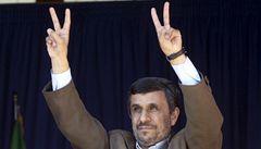 Poletím do vesmíru, nabídl se Ahmadínežád