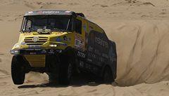 Loprais vyhrál etapu Dakaru. Bojuje o vítězství