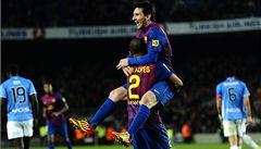 Barcelona deklasovala v poháru Pamplonu 4:0