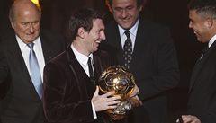Messi vyrovnal legendy. Potřetí vyhrál Zlatý míč