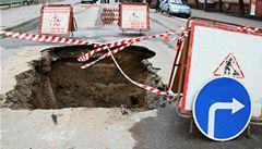 Batole v Rusku odnesla voda do kanalizace