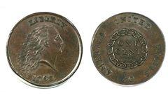 Jednocentovou minci vydražili za 28 milionů korun
