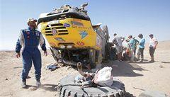 Zraněný Loprais už je na cestě z Rallye Dakar domů