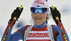 Biatlon v Novém Městě vyhrála Mäkäräinenová