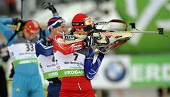 Biatlonista Soukup získal na MS bronz
