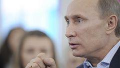 USA chtějí ovládnout svět, myslí si Putin