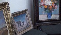 Policie zatkla obchodníka s obrazy. Prodával padělky
