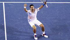 Dlouhou bitvu o finále vyhrál Djokovič. Murray končí