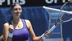 Skvělá Kvitová postoupila do semifinále Australian Open