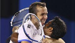 Štěpánek si na US Open zahraje o titul ve čtyřhře
