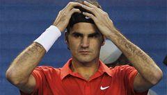 Federer: Nelitujte mě. Pět měsíců jsem neprohrál