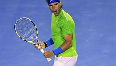 V bitvě rivalů Nadal postoupil přes Federera