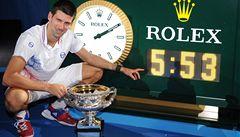 Djokovič udolal Nadala v nejdelším finále historie