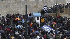 Řecko ochromila generální stávka