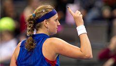 Kvitová trénovala na OH. 'Je to tu jiné než při Wimbledonu,' řekla