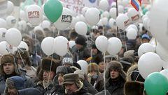 Rusové demonstrovali na podporu Putina i proti němu