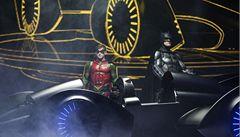 Napodobenina Batmobilu se na aukci prodala za tři miliony korun