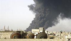 V Homsu vybuchl ropovod. Zřejmě ho bombardovali