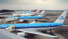 Letiště Schiphol zrušilo lety, bylo bez proudu. Stejně tak i Amsterdam