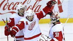 Detroit může v noci pokořit rekord NHL