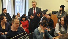 Hádka v Plzni: Nehájíte zájmy studentů