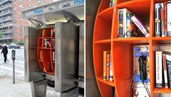 Novinka v NY: Telefonní budka nebo knihovna?