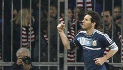 VIDEO: Messi dal za Argentinu první hattrick