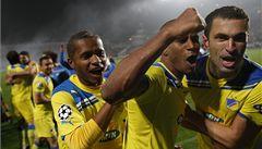 Nikósie na nohou. APOEL slaví historický triumf