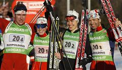 Biatlonisté skončili v mixech osmí, vyhrálo Norsko